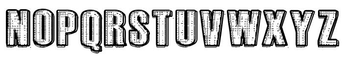 RvD_PRINTPLATE Font UPPERCASE