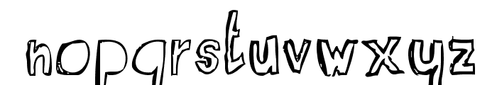 RvD_SUITCASEBOY Font LOWERCASE