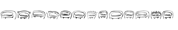 RvD_THUMBSUCKERS Font UPPERCASE