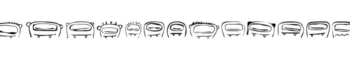 RvD_THUMBSUCKERS Font LOWERCASE