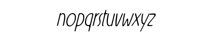 Rx-ZeroFive Font LOWERCASE