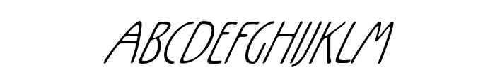 Rx-ZeroOne Font UPPERCASE