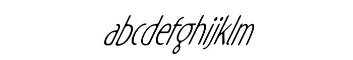 Rx-ZeroOne Font LOWERCASE