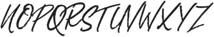 Rythmic Dances otf (400) Font UPPERCASE