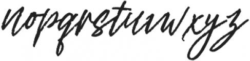 Rythmic Dances otf (400) Font LOWERCASE