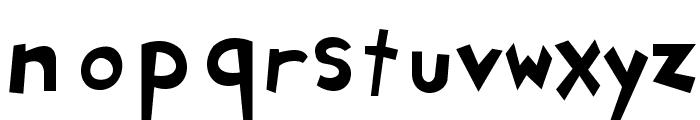 Ryan's Rotten Writing Font LOWERCASE