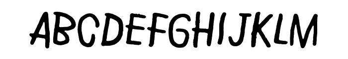 Rye field Font LOWERCASE