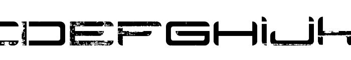Rysky Lines Font LOWERCASE