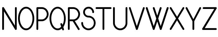 Rythmus Regular Font UPPERCASE
