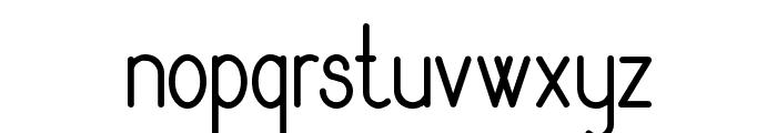Rythmus Regular Font LOWERCASE