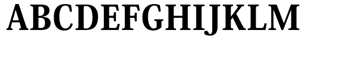 Ryo Display PlusN Heavy Font UPPERCASE