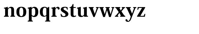 Ryo Display PlusN Heavy Font LOWERCASE