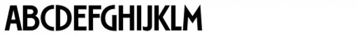 Ryder Gothic Pro Medium Font UPPERCASE