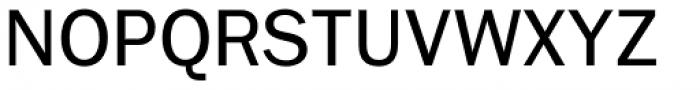 Ryman Gothic Regular Font UPPERCASE