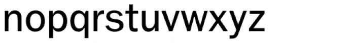 Ryman Gothic Regular Font LOWERCASE