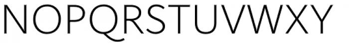 RyuGothic Ultra Light Font UPPERCASE