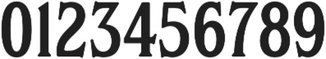 S&S Hilborn Five otf (400) Font OTHER CHARS