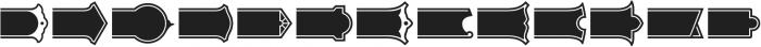 S&S Hilborn Panels One otf (400) Font LOWERCASE