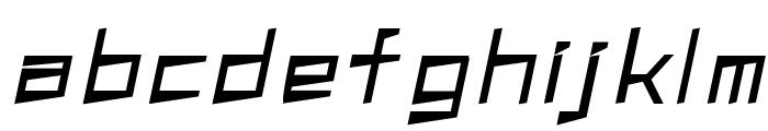 S  A100kmh Font LOWERCASE