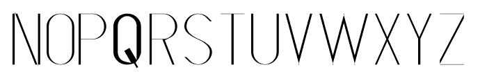 S-PHANITH_FTHIN Font LOWERCASE