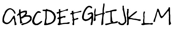 S Uneven Font UPPERCASE