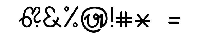 S?tterlin Font OTHER CHARS
