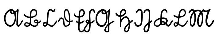 S?tterlin Font UPPERCASE