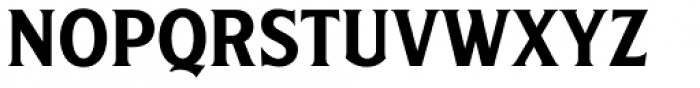 S&S Amberosa Serif Font UPPERCASE