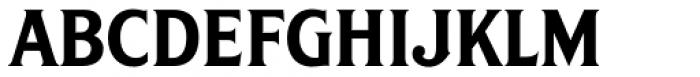 S&S Amberosa Serif Font LOWERCASE