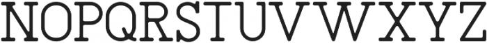 SAILOR Medium otf (500) Font UPPERCASE
