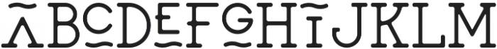 SAILOR Medium otf (500) Font LOWERCASE