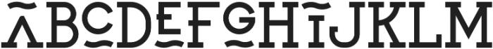 SAILOR ORIGINAL Regular otf (400) Font LOWERCASE