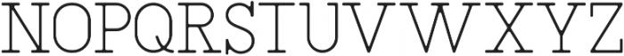 SAILOR Thin otf (100) Font UPPERCASE