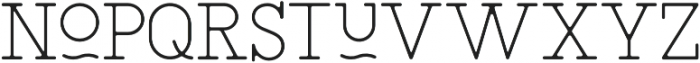 SAILOR Thin otf (100) Font LOWERCASE