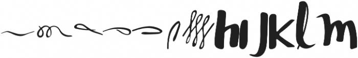SASHA SCRIPT otf (400) Font UPPERCASE