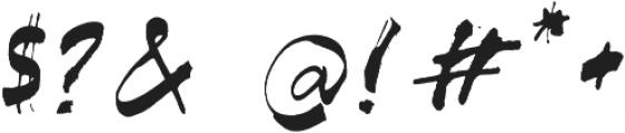 SASQUATCH otf (400) Font OTHER CHARS