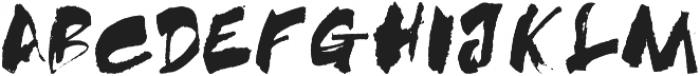 SASQUATCH otf (400) Font UPPERCASE