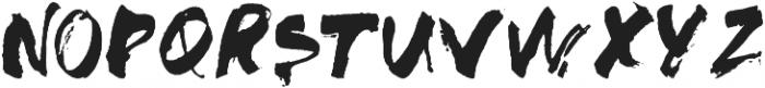 SASQUATCH otf (400) Font LOWERCASE