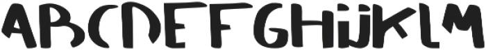 SAVAGE otf (400) Font UPPERCASE