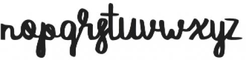 SAVAGE otf (400) Font LOWERCASE