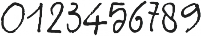 Sabbatical Regular otf (400) Font OTHER CHARS