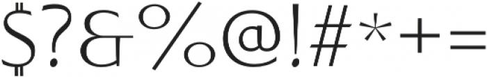 Sabler Titling Ext Light otf (300) Font OTHER CHARS