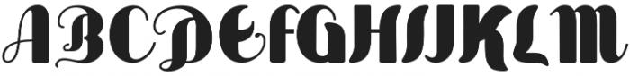 Sabor otf (400) Font UPPERCASE
