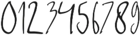 Sabreena Signature Script otf (400) Font OTHER CHARS