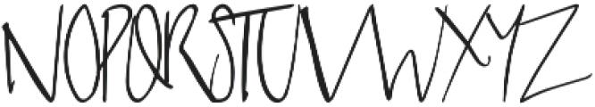 Sabreena Signature Script otf (400) Font UPPERCASE