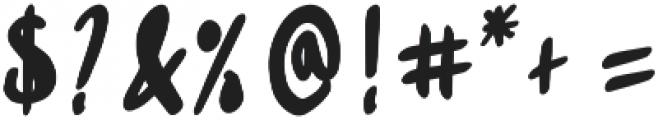 Sabreena Vintage Bold otf (700) Font OTHER CHARS