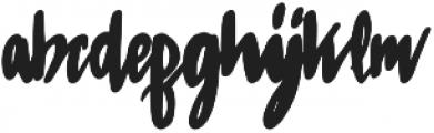 Sabreena Vintage Bold otf (700) Font LOWERCASE