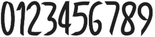 Saburio otf (400) Font OTHER CHARS