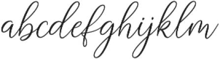 Sabyan otf (400) Font LOWERCASE