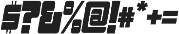 Sackem PB Narrow Oblique otf (400) Font OTHER CHARS